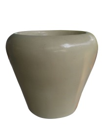 Round Conical Fibre Pot