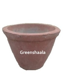Concrete Bowl Pot-II